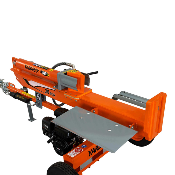 YARDMAX 25 Ton Horizontal Vertical Log Splitter (YU2566) at Log Splitter HQ