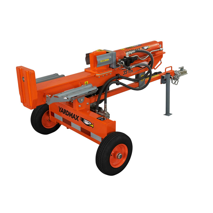 YARDMAX 35 Ton Horizontal Vertical Log Splitter (YU3566) at Log Splitter HQ