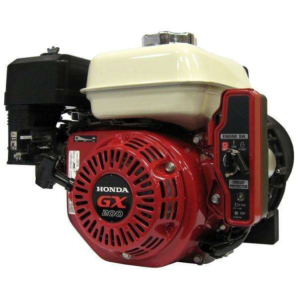 Banjo Electric Start 3 Inch Dewatering Pump Honda GX200 (300PH-6-200E.BAN) at Log Splitter HQ