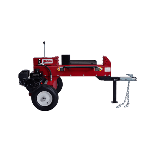 Boss Industrial 16-Ton 2-Way Gas Log Splitter (6.5 HP, 8-Second Cycle) at Log Splitter HQ
