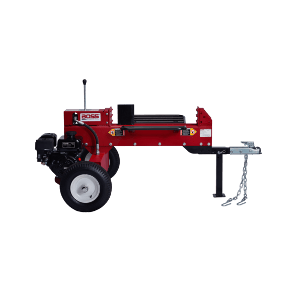 Boss Industrial 16-Ton 2-Way Gas Log Splitter (6.5 HP, 8-Second Cycle) at Wood Splitter Direct