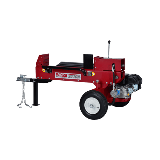 Boss Industrial 20-Ton Horizontal Dual-Action Gas Log Splitter (GD20T24) at Wood Splitter Direct