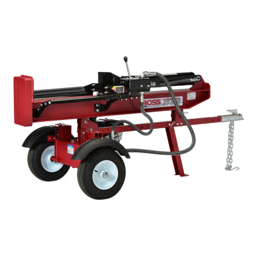 Boss Industrial 25 Ton Commercial Grade Horizontal Vertical Gas Wood Splitter (GB25T26) at Log Splitter HQ