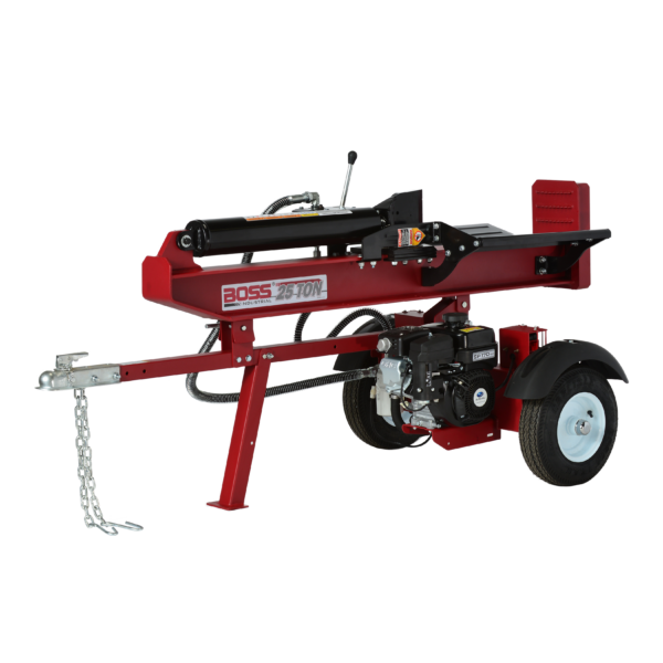 Boss Industrial 25 Ton Commercial Grade Horizontal Vertical Gas Wood Splitter (GB25T26) at Wood Splitter Direct