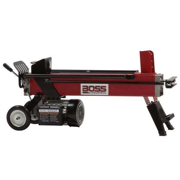 Boss Industrial 5-Ton Electric Log Splitter (1.8 HP, 14-Second Cycle) at Log Splitter HQ