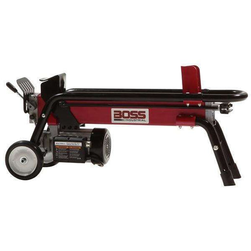 Boss Industrial 7-Ton Electric Log Splitter (2 HP, 14-Second Cycle) at Wood Splitter Direct