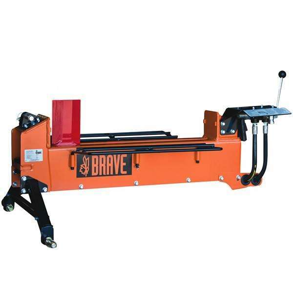 Brave 20-Ton Dual Action 3-Point Tractor Log Splitter (Approx 5-Second Cycle) at Wood Splitter Direct