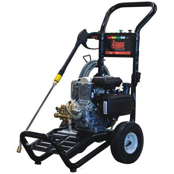 Brave 3000 PSI Pressure Washer GC190 Honda (BR2530HCO) at Log Splitter HQ