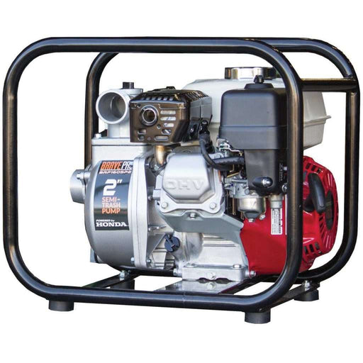 BravePro 2 Inch Honda Semi-Trash Water Pump (BRP160SP2) at Log Splitter HQ