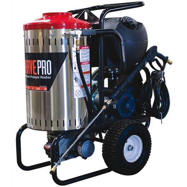 BravePro Electric Hot Water Pressure Washer 2000 PSI (BRP1520ECA) at Wood Splitter Direct