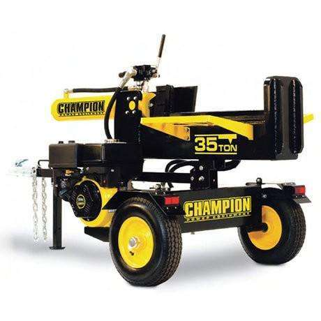 Champion 35-Ton Gas Log Splitter (11 HP, 18-Second Cycle) at Wood Splitter Direct