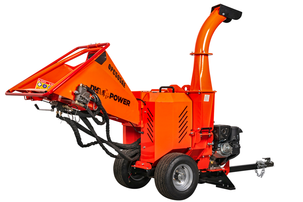 Detail K2 OPC505AE Wood Chipper - Image 3