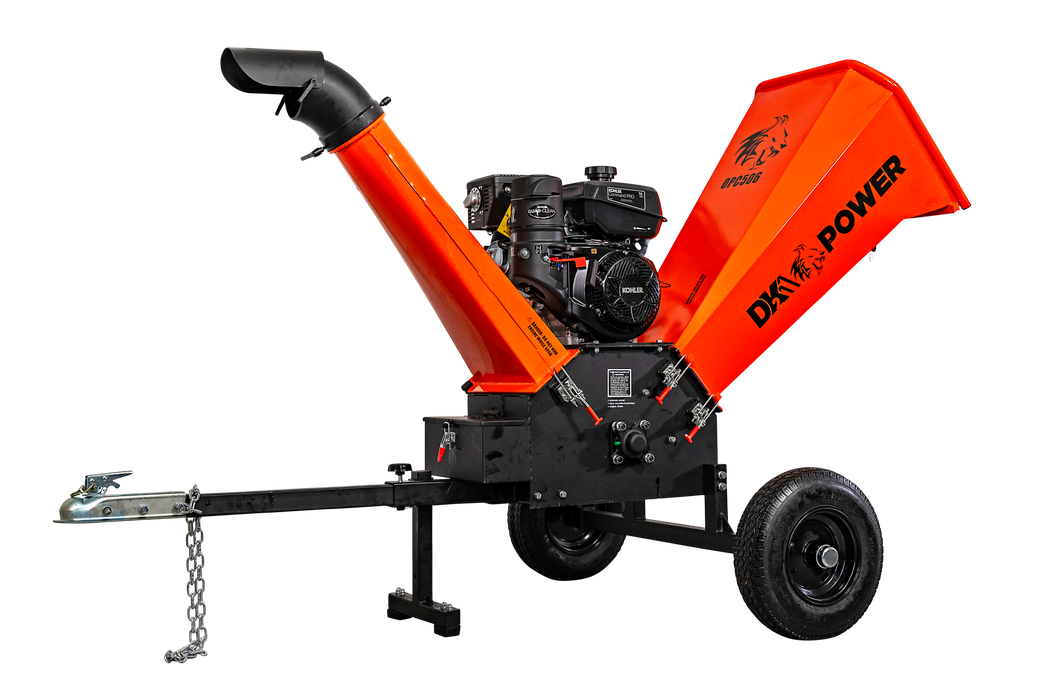 Detail K2 OPC506 Wood Chipper - Image 2
