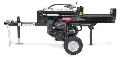 Oregon 28-Ton 9HP Kohler Horizontal / Vertical EXtendSplit™ Log Splitter (596279) at Log Splitter HQ