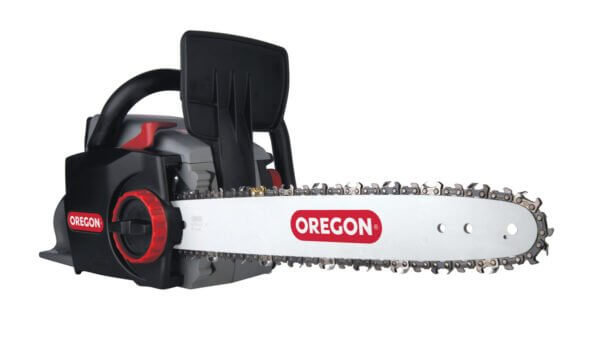 Oregon CS300 Self-Sharpening Cordless Chainsaw with 6.0 Ah Battery and Charger (586622) at Wood Splitter Direct