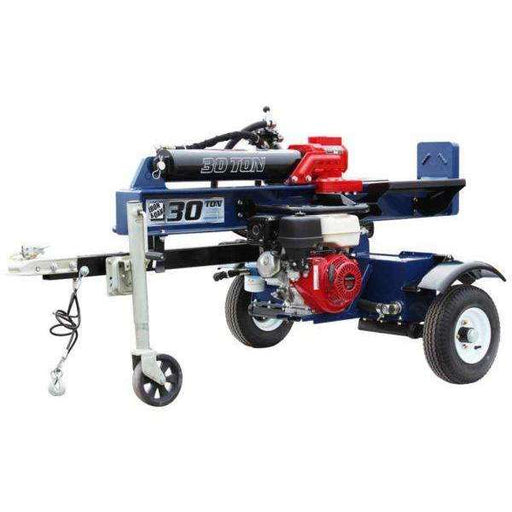 Iron & Oak 30 Ton Vertical Horizontal Log Splitter Torsion Axle (BHVH3018GXT) at Log Splitter HQ