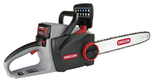 Oregon CS300 Self-Sharpening Cordless Chainsaw with 2.6 Ah Battery and Charger (572626) at Wood Splitter Direct