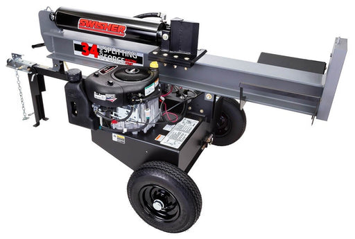 Swisher 34-Ton Electric Start Horizontal / Vertical Log Splitter (LSER11534) at Log Splitter HQ