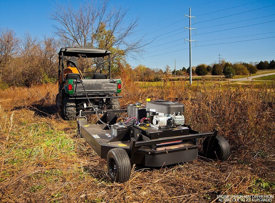 Swisher 52 Inch Electric Start Rough Cut Tow Behind Trail Cutter (RC14552CPKA) at Log Splitter HQ