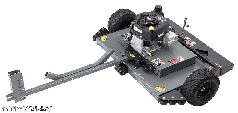 Swisher 44 Inch Finish Cut Pull Behind Mower Electric Start (FCE11544BS) at Log Splitter HQ