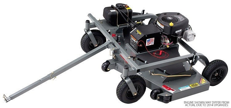 Swisher 60 Inch Finish Cut Pull Behind Mower Electric Start (FC14560BS) at Wood Splitter Direct