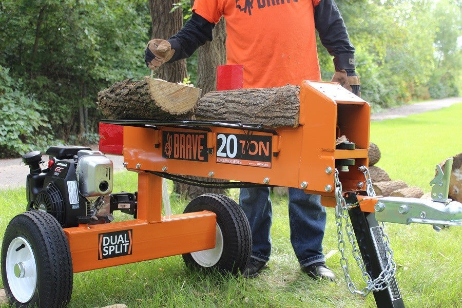 20 Ton Brave Two Way Log Splitter (PCLS2013GC) at Log Splitter HQ