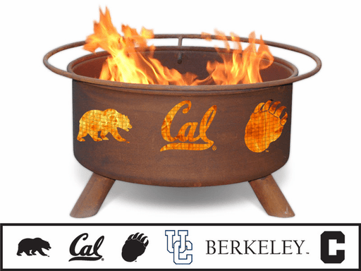 Collegiate Fire Pits - Patina at Wood Splitter Direct