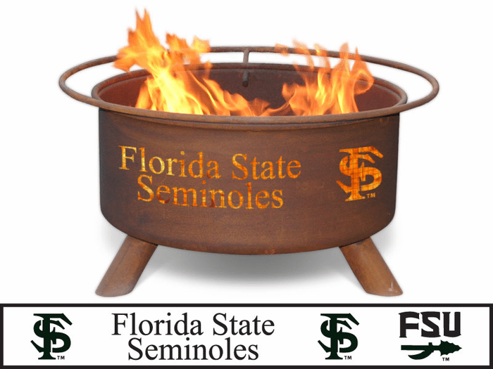 Collegiate Fire Pits - Patina at Log Splitter HQ
