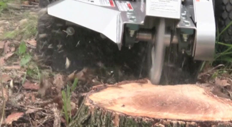 Dosko Stump Grinder 691SP (691SP-20HE) at Log Splitter HQ