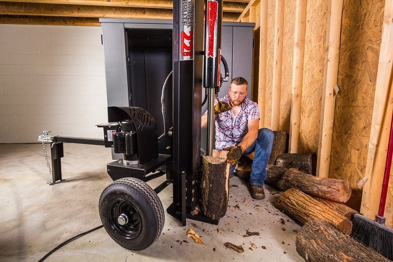 Swisher 22 Ton Electric Log Splitter Eco Split (LS22E) at Log Splitter HQ