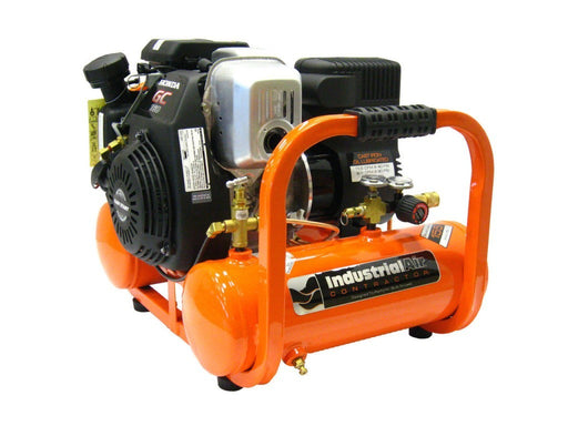 Industrial Air Contractor 4 Gal Pontoon Air Compressor (CTA5090412-50.SAN) at Log Splitter HQ
