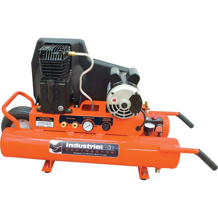 Industrial Air Electric Wheelbarrow Air Compressor (CTA1980854.SAN) at Log Splitter HQ