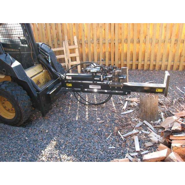 RamSplitter 30 Ton Skid Steer Log Splitter Attachment (SSH30) at Wood Splitter Direct