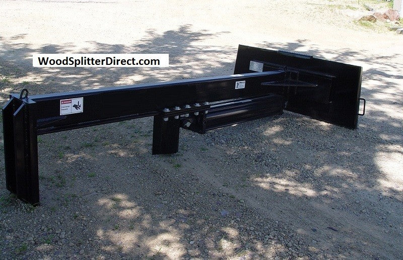 "SB 25 Ton 30"" Open Upside Down Skid Steer Log Splitter Attachment (SB530)"