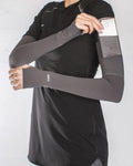 Spark Sports Compression Sleeve Grey 2