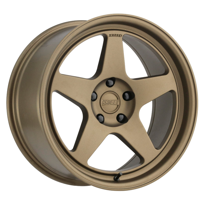 Kansei KNP | Textured Bronze - kansei-wheels