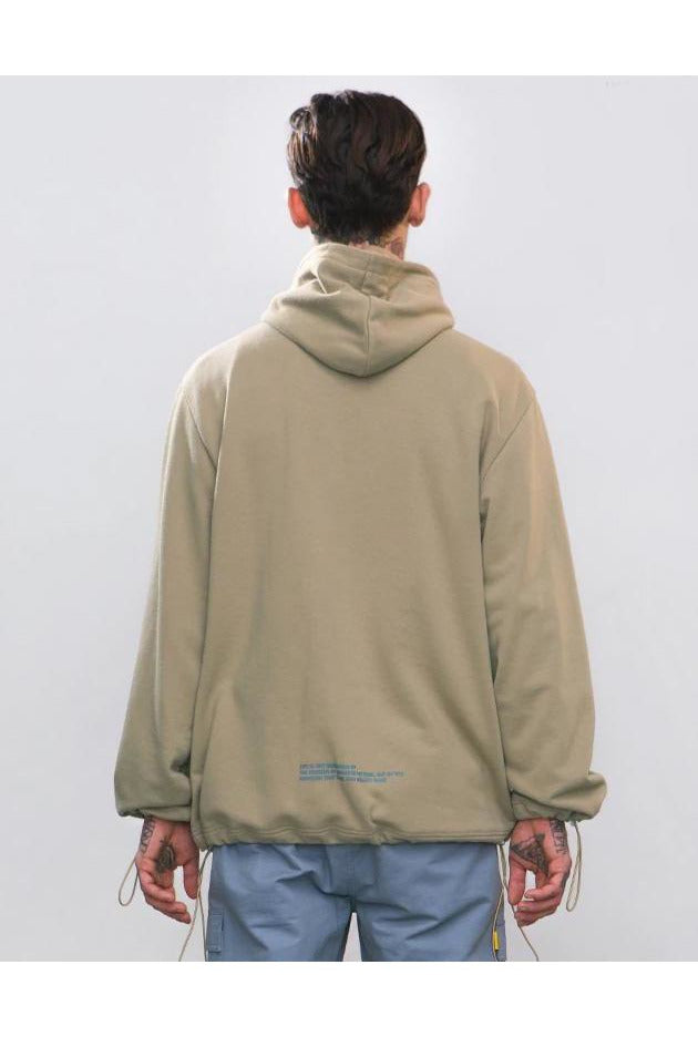 SK-T-SW-V931 POCKET HOODED SWEATSHIRT - SKYCLUB
