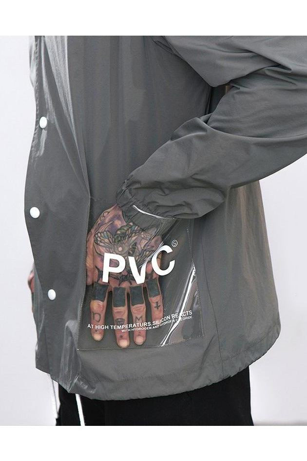 SK-S-SH-T109 PVC POCKET WINDBREAKER - SKYCLUB
