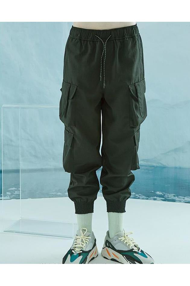 SK-P-HP-B801 DOUBLE POCKET CARGO PANTS - SKYCLUB