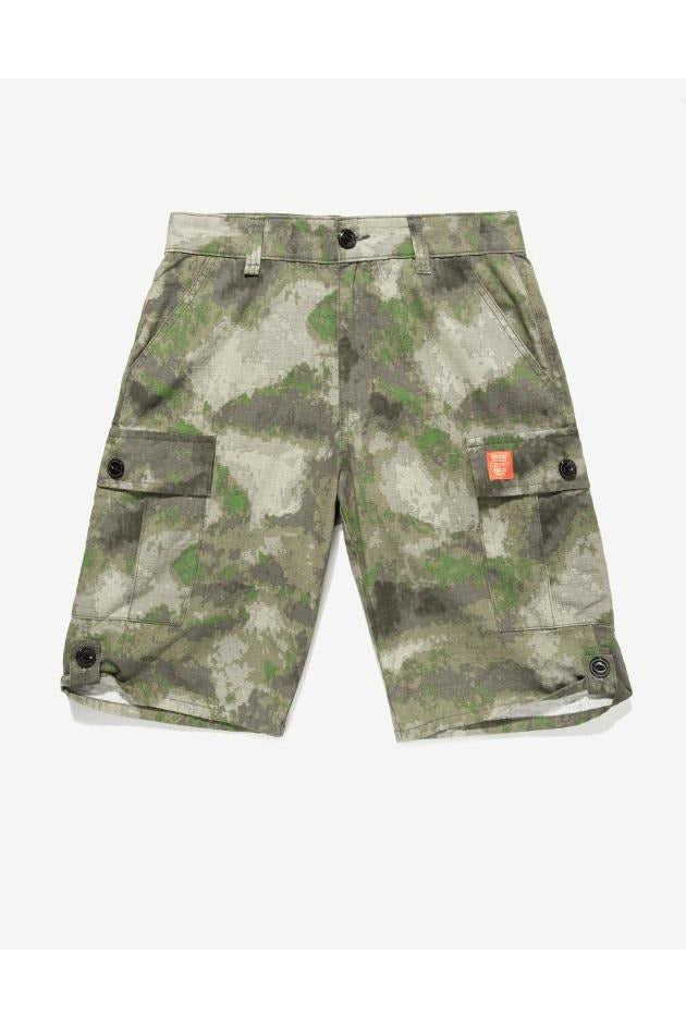 Camoflage Shorts Straight Slim Fit Shorts - SKYCLUB