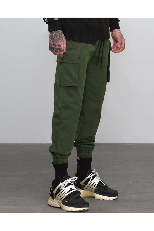 Casual Slim Fit Chino Joggers Cargo Pants - SKYCLUB
