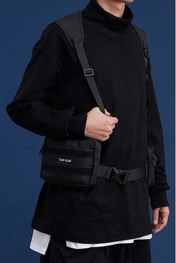 Multi Function Shoulder Bags Crossbody Bag Black Bags