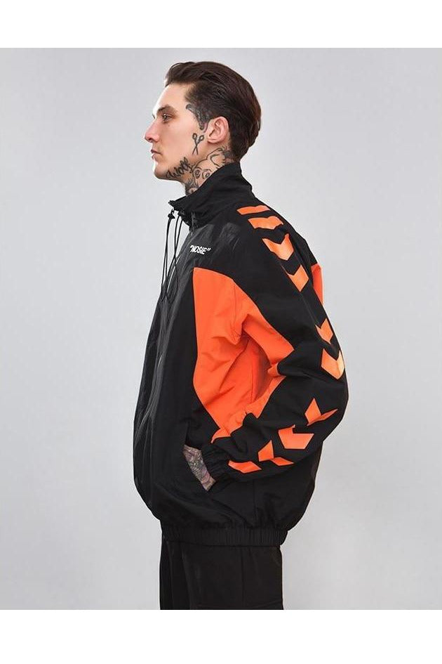 SK-W-BR-C048 WINDBREAKER CHEVRON JACKET - SKYCLUB