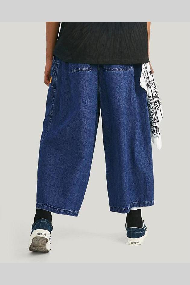 Straight Baggy Loose Denim Jeans Pants - SKYCLUB