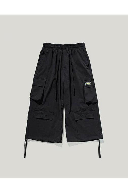 Windbreaker Men Wide-Legged Pants - SKYCLUB