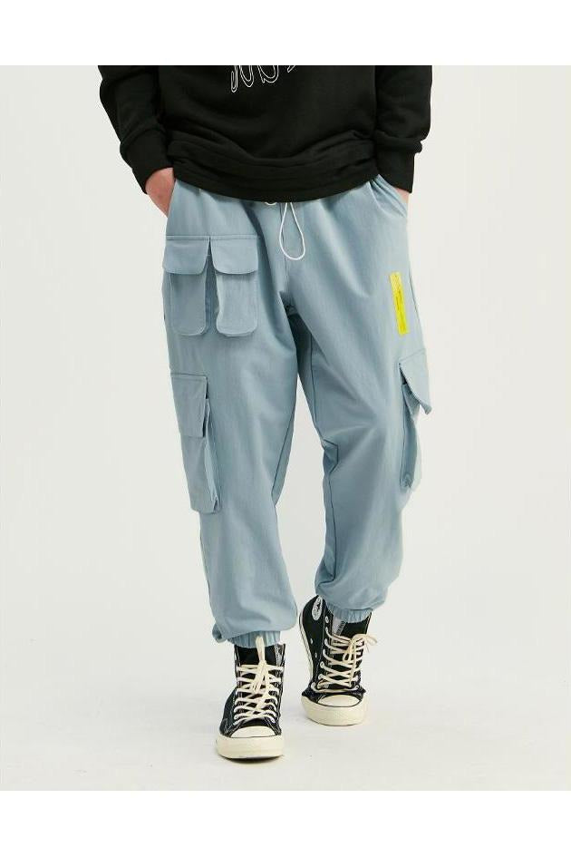 Ankle-Tied Casual Jogger Chino Jogger Pants - SKYCLUB