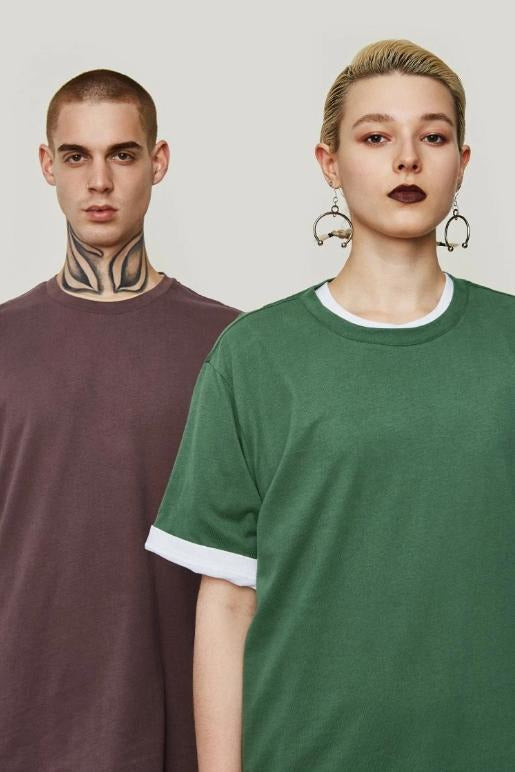 Multi-colour Cotton Summer T-shirts - SKYCLUB