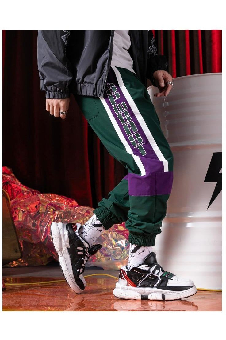 Velocity Color Block Side Striped Track Pants - SKYCLUB