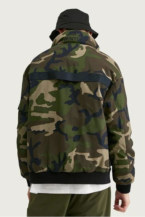 Camo Men Down Coat - SKYCLUB
