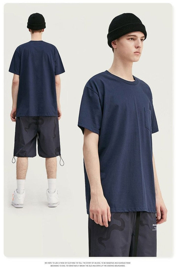 Summer Collection Men Tshirt Cotton Solid - SKYCLUB